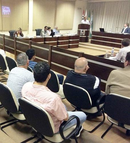 Superintendente do SAAE participa da 25ª sessão da Câmara