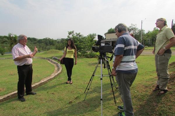 Gravação do programa O Saber das Águas em Capivari