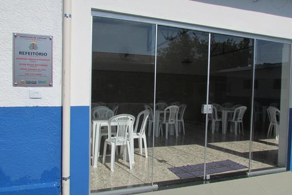 SAAE inaugura refeitório e vestiário para os servidores
