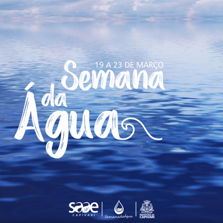 Dia Mundial da Água será comemorado em Capivari