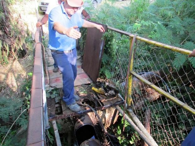 SAAE realizará troca de um pequeno trecho da rede adutora de água da ETA I