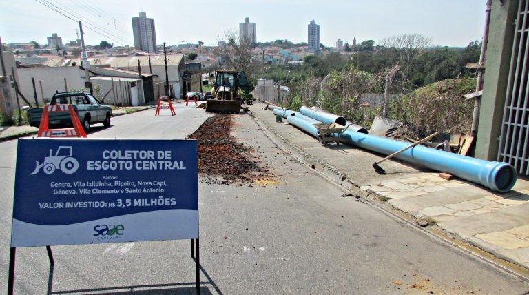 Tubos e conexões subterrâneas somam mais de R$ 50 milhões em patrimônio público