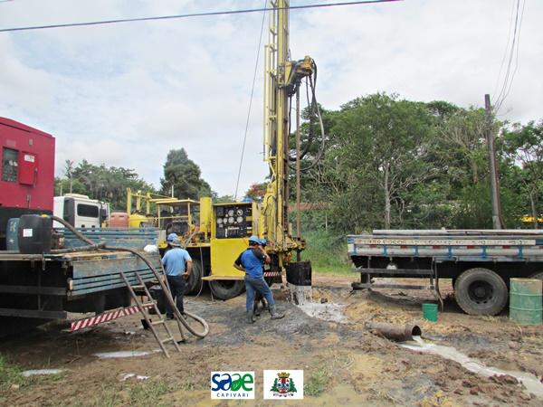 SAAE realiza revitalização de poço artesiano que abastece o sistema Cancian