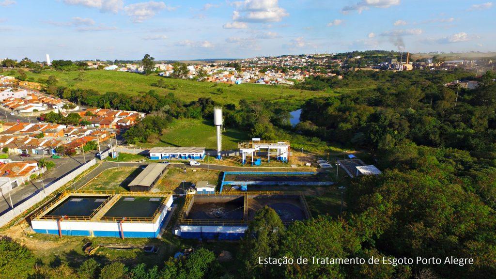 Estação de Tratamento de Esgoto Porto Alegre atende cerca de 20 bairros em Capivari