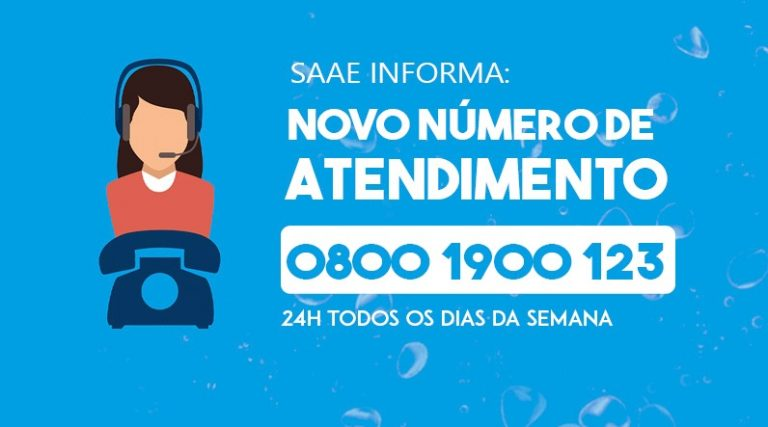 Read more about the article SAAE CAPIVARI ATENDE EM NOVO NÚMERO