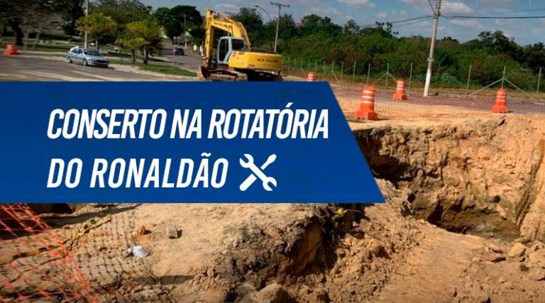 Read more about the article SAAE INICIA TRABALHOS PARA RESTAURAR A ROTATÓRIA DO RONALDÃO